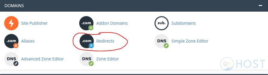 Hướng dẫn sử dụng tính năng Redirects trên Cpanel Hosting