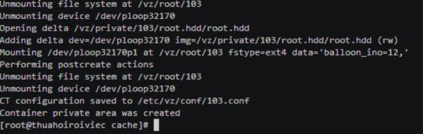 Hướng dẫn cài đặt OpenVZ trên CentOS - Tài liệu 123Host