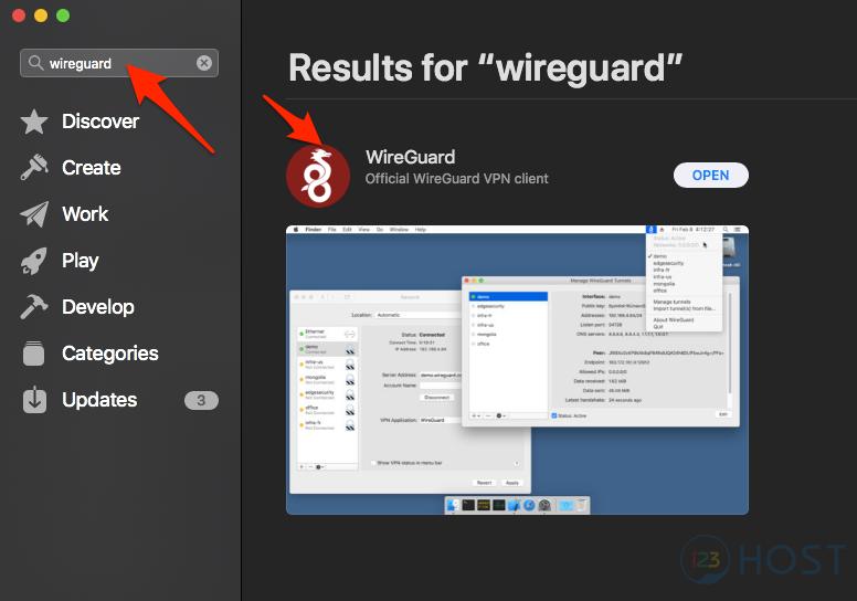 Hướng dẫn cài đặt Wireguard VPN trên Centos 7 - Tài liệu 123Host