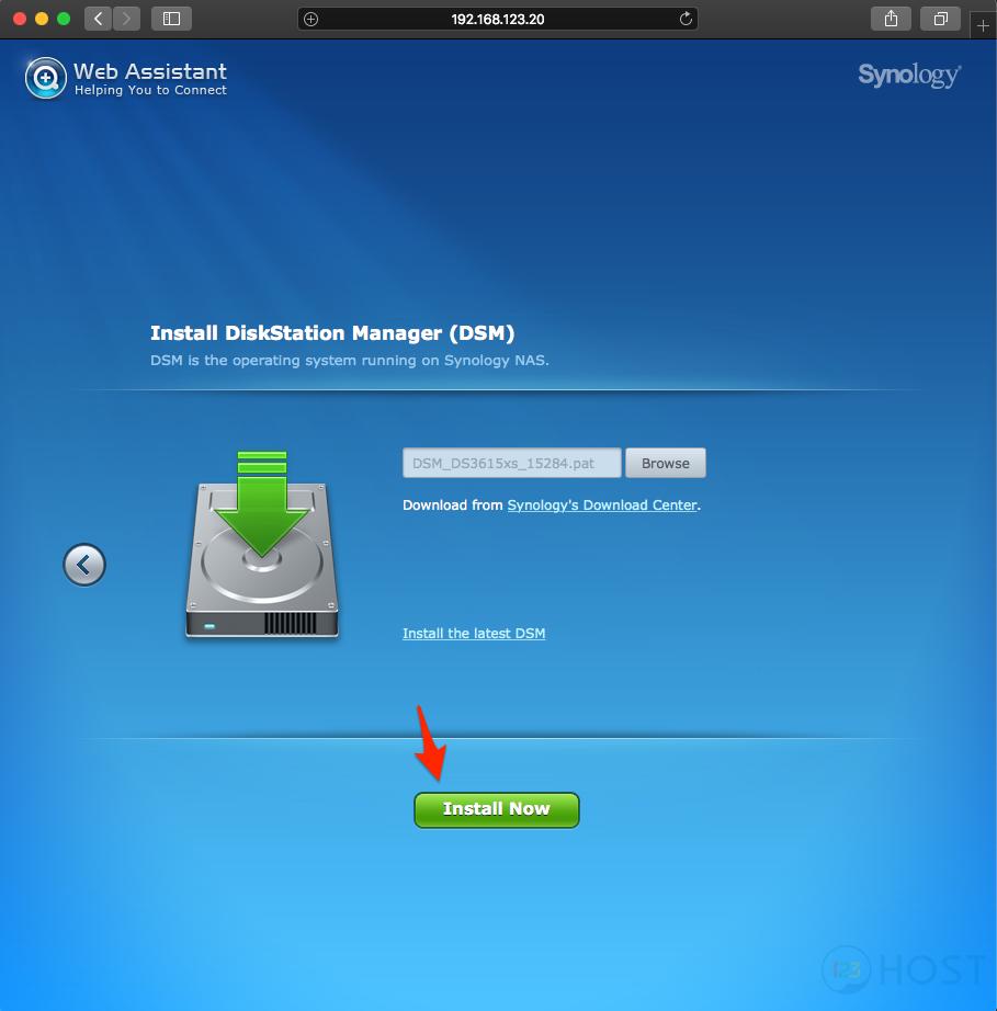 Hướng dẫn cài đặt NAS Synology DSM 6 1 7 lên Server với Legacy BIOS